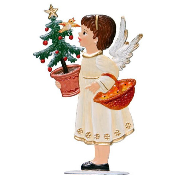 Angel With Tree and Basket by Wilhelm Schweizer Image
