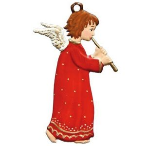 Angel with Flute Ornament by Wilhelm Schweizer Image