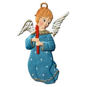 Angel with Candle Ornament by Wilhelm Schweizer Image