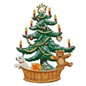 Christmas Tree in Basket Ornament by Wilhelm Schweizer Image