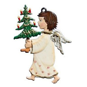 Angel Carrying Tree Ornament by Wilhelm Schweizer Image