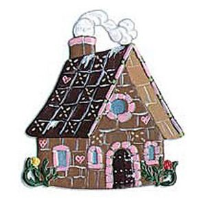 Gingerbread House Ornament by Wilhelm Schweizer Image