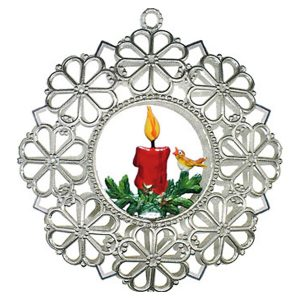 Filigree Candle Ornament by Wilhelm Schweizer Image