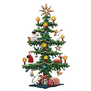 Large Decorated Christmas Tree Ornament by Wilhelm Schweizer Image