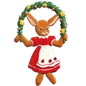 Bunny, Jumping Ornament by Wilhelm Schweizer Image