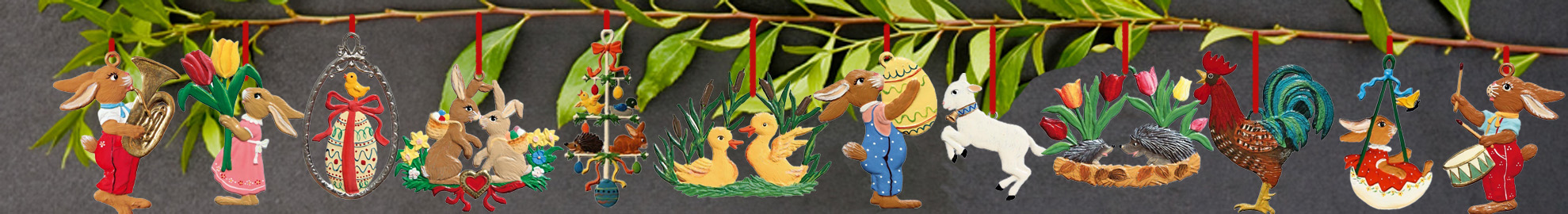 Spring/Easter Ornament Collection Image