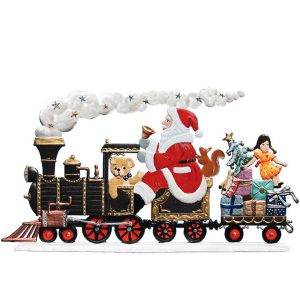 Santa's Locomotive Image
