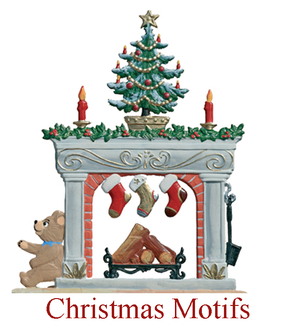 Christmas Fireplace for Shop Page Image
