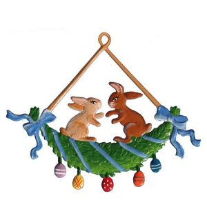 Peter and Meg Ornament by Wilhelm Schweizer Image