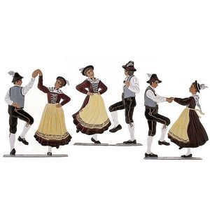 Costumed Dance Group by Wilhelm Schweizer Image