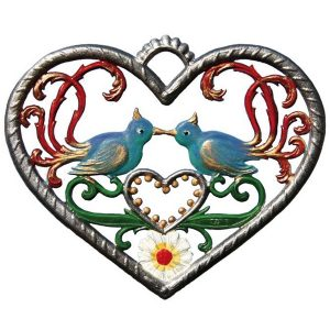 Heart with Birds by Wilhelm Schweizer Image