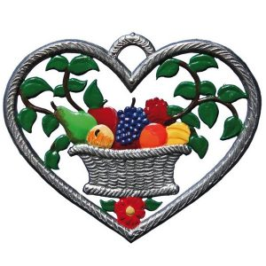 Heart with Fruit Basket by Wilhelm Schweizer Image