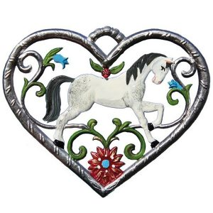 Heart with Horse by Wilhelm Schweizer