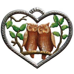 Heart with Owls by Wilhelm Schweizer Image