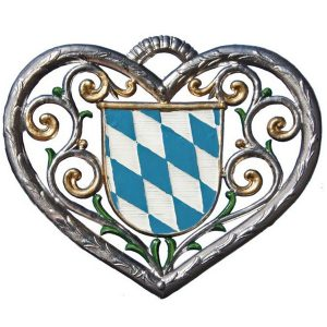 Heart with Bavarian Shield by Wilhelm Schweizer Image