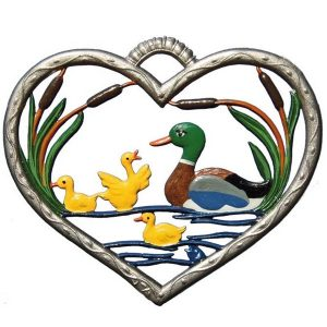 Heart with Ducks by Wilhelm Schweizer Image