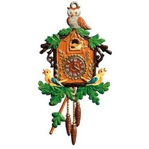 Cuckoo Clock Ornament by Wilhelm Schweizer IMAGE