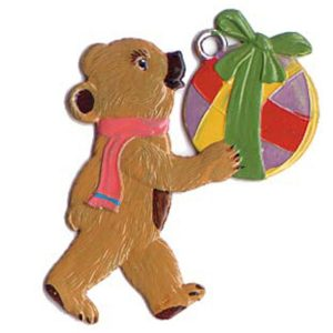 Teddy Bear with Ball Ornament by Wilhelm Schweizer Image