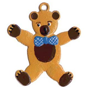 Teddy Bear Ornament by Wilhelm Schweizer Image