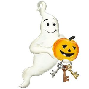Halloween Ghost Ornament by Wilhelm Schweizer Image