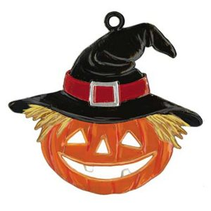 Pumpkin with Hat Ornament by Wilhelm Schweizer Image