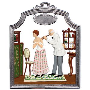 The Doctor Wall Hanging by Wilhelm Schweizer Image