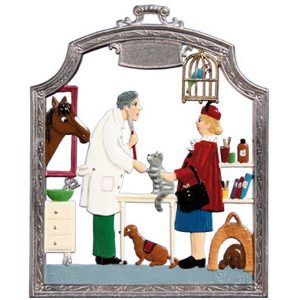 The Veterinarian Wall Hanging by Wilhelm Schweizer Image