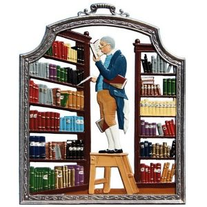 The Librarian Wall Hanging by Wilhelm Schweizer Image