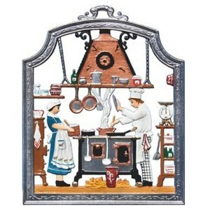 The Chef Wall Hanging by Wilhelm Schweizer Image