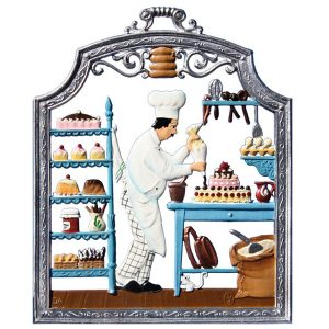 The Pastry Chef Wall Hanging by Wilhelm Schweizer Image