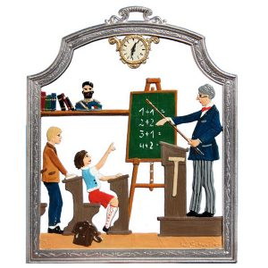 The Male Teacher Wall Hanging by Wilhelm Schweizer Image