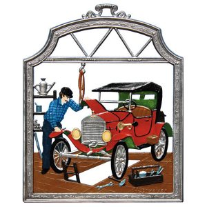 The Mechanic Wall Hanging by Wilhelm Schweizer Image