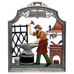 The Blacksmith Wall Hanging by Wilhelm Schweizer Image