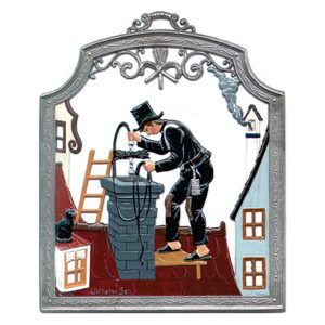 The Chimneysweep Wall Hanging by Wilhelm Schweizer Image