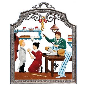 The Tailor Wall Hanging by Wilhelm Schweizer Image