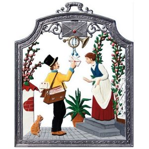 The Postman Wall Hanging by Wilhelm Schweizer Image