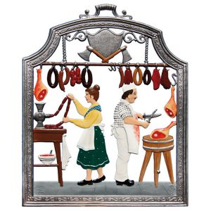 The Butcher Wall Hanging by Wilhelm Schweizer Image
