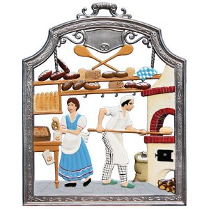 The Baker Wall Hanging by Wilhelm Schweizer Image