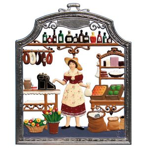 The Shopkeeper Wall Hanging by Wilhelm Schweizer Image