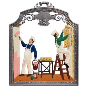 The Decorators Wall Hanging by Wilhelm Schweizer Image