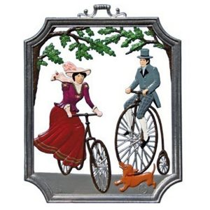 Bicycling Wall Hanging by Wilhelm Schweizer Image
