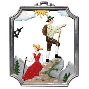 Hiking Wall Hanging by Wilhelm Schweizer Image