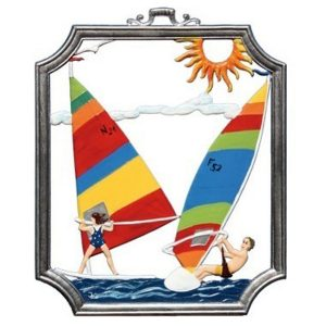 Wind Surfing Wall Hanging by Wilhelm Schweizer Image