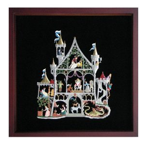 Fairy Tale Castle Framed Wall Hanging by Wilhelm Schweizer Image