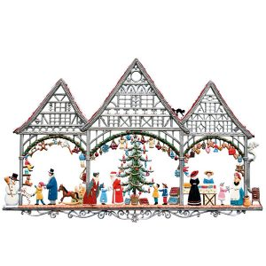 Christmas Market Wall Hanging by Wilhelm Schweizer Image