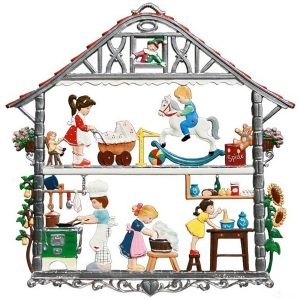 Children's House Wall Hanging by Wilhelm Schweizer Image