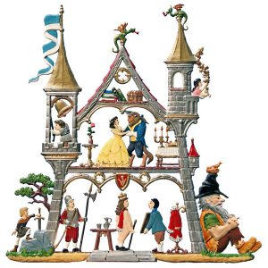 Small Fairy Tale Castle Wall Hanging by Wilhelm Schweizer Image