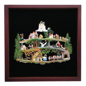 Fairy Tale Forest Framed Wall Hanging by Wilhelm Schweizer Image