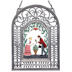 All My Love Wall Hanging in Filigree Frame by Wilhelm Schweizer Image