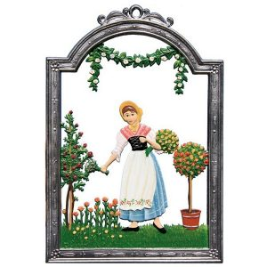 The Rose Garden Wall Hanging by Wilhelm Schweizer Image